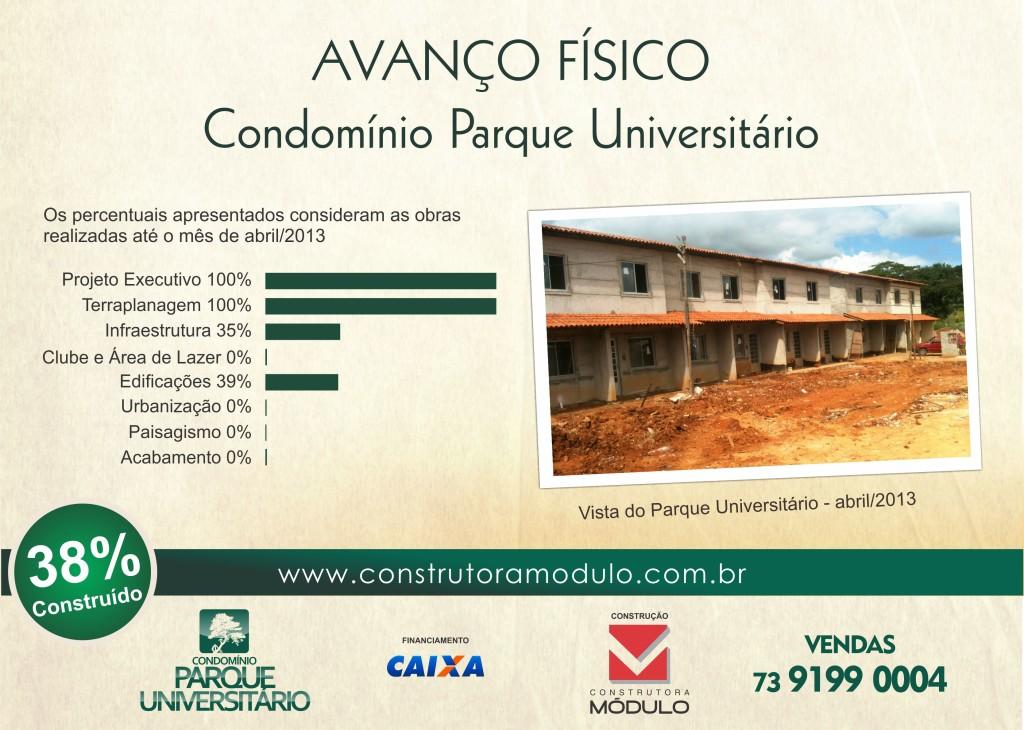 PARQUE UNIVERSITÁRIO ABRIL 2013