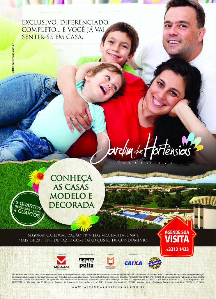 Anúncio 02 - 1 pág Revista_Jardim das Hortênsias