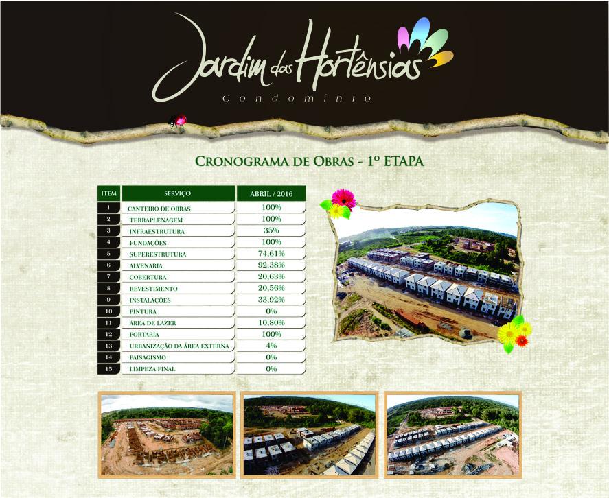 JARDIM DAS HORTENSIAS - ABRIL